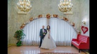 Видеосъемка свадьбы, Чертановский загс в качестве 4к