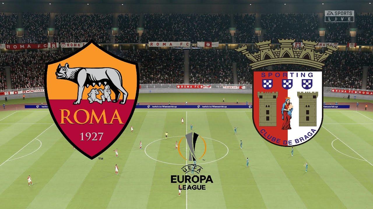 UEFA Europa League 2021 (R32) - Roma Vs SC Braga - 2nd Leg - 25th February  2021 - FIFA 21 - YouTube