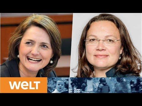 """""""Trümmerfrauen"""": Nahles oder Lange - wer führt die SPD aus dem Tal der Tränen?"""