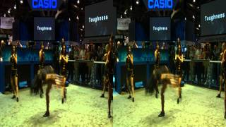 Kata Girls at CES in 3D Trailer