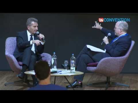 Unconvention 2015 day 1 | Keynote and Interview with the European Commissioner Günther Oettinger