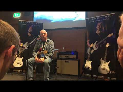 PRS LONDON EXPERIENCE 2018 JOHN MAYER SILVER SKY  Paul Reed Smith show it