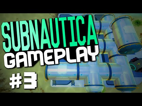 "Subnautica Gameplay #3 ""Constructor, Starting The Sea Base, Jerk Fish"""