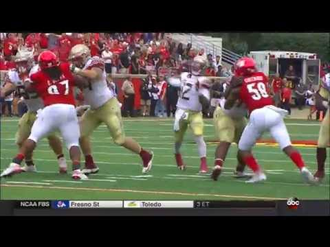 Deondre Francois hits Auden Tate for 20-yard touchdown - FSU vs Louisville