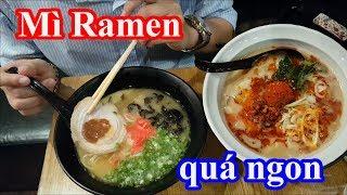 Khám phá nhà hàng mì Ramen ngon nhất Sài Gòn - Thử thách ăn một lúc 3 tô mì
