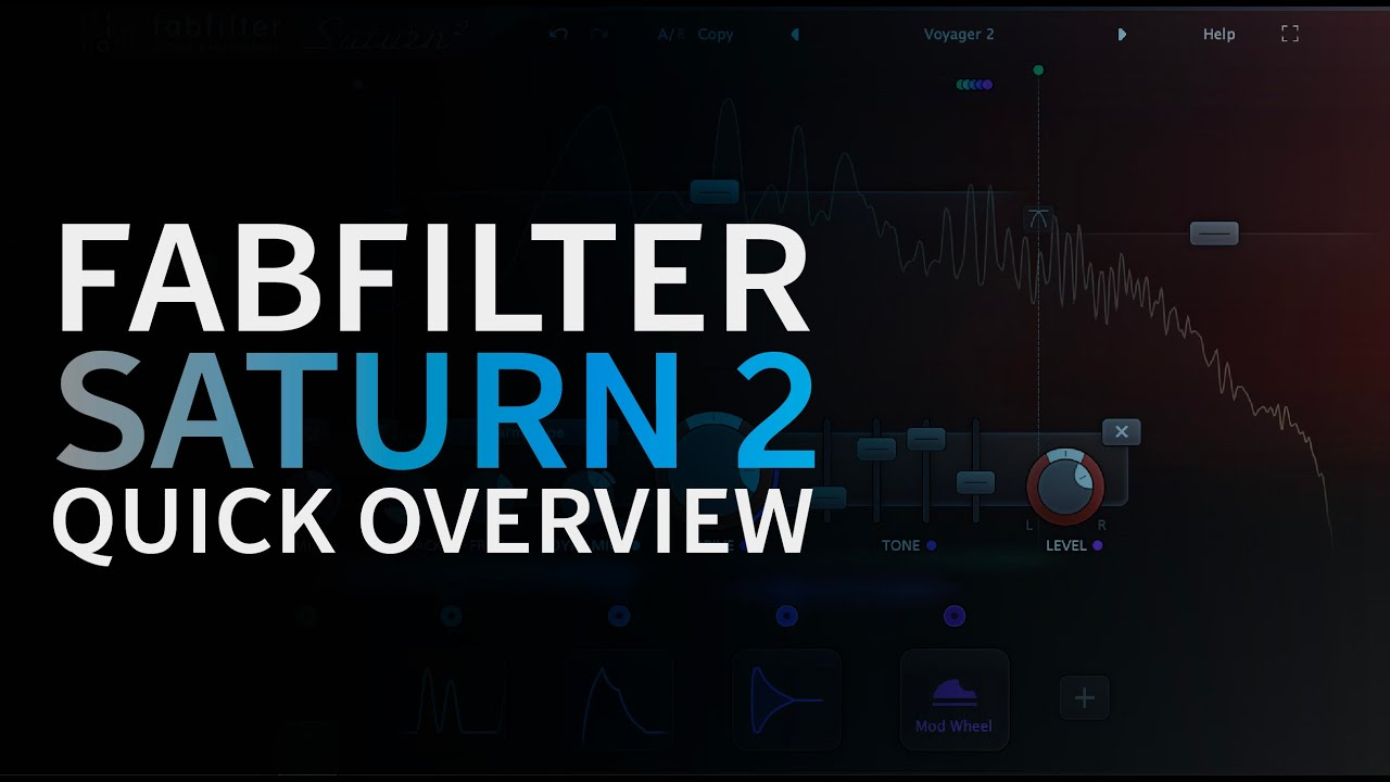 Fabfilter Saturn 2 Quick Overview Music Production Tutorials Youtube