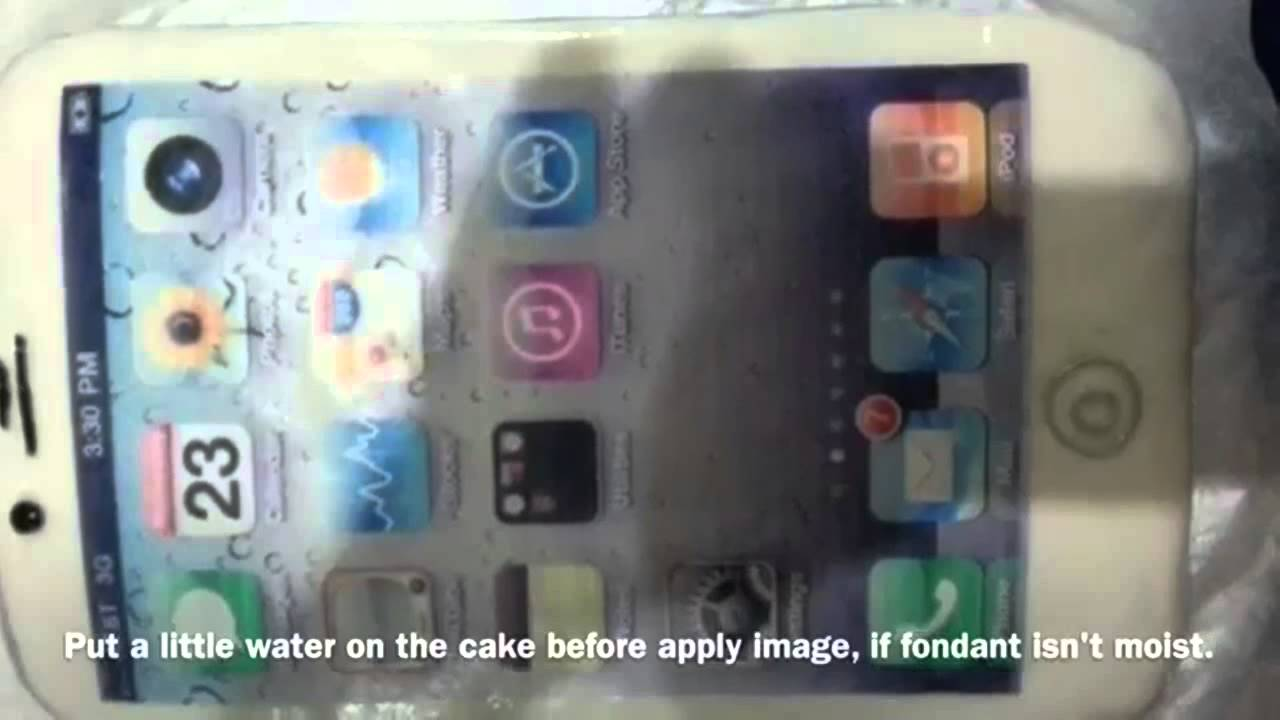 How to Make an IPhone Cake YouTube