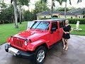 2013 Jeep Wrangler Unlimited Sahara, only 18K Miles, for sale by Autohaus of Naples 239-263-8500