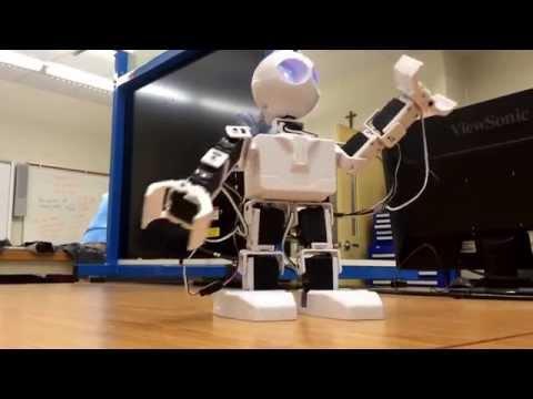 EZ Robot Created Dance Move (Jayden and Philip)