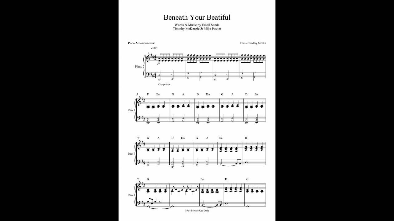 beneath-your-beautiful-by-labrinth-ft-emeli-sande-piano-accompaniment-sheet-music-emusictranscriptions
