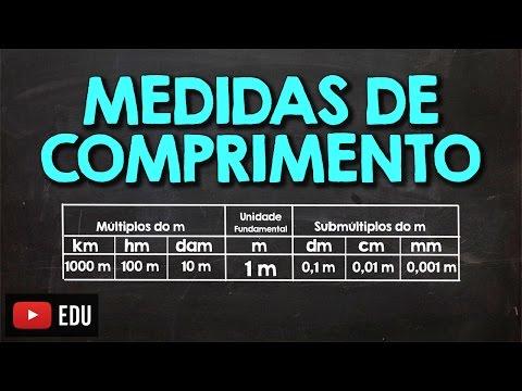 Como Calcular e Converter - km, hm, dam, m, dm, cm e mm - Medidas de Comprimento