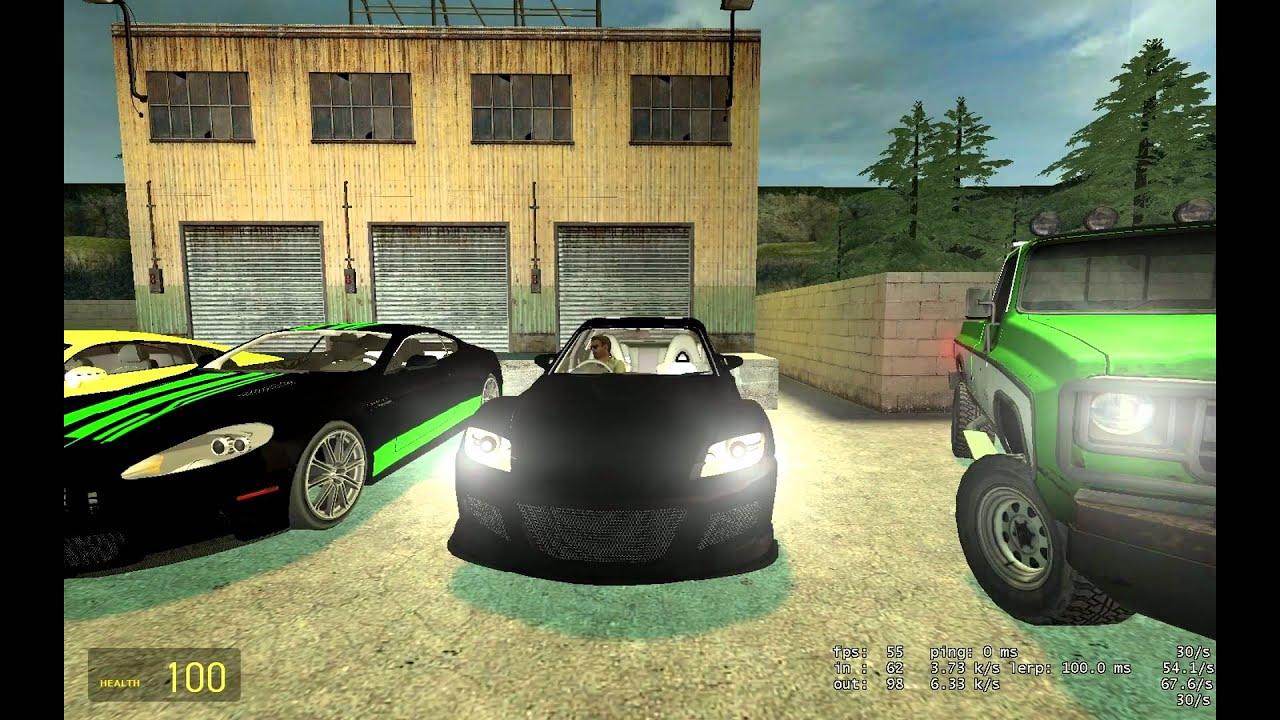 S Cars Gmod