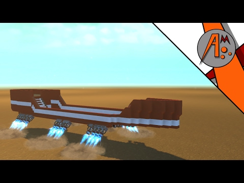 "Scrap Mechanic Ep3 ""Hover Research Ship"""
