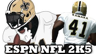 I AM ALVIN KAMARA - ESPN NFL 2K5 FIRST PERSON FOOTBALL
