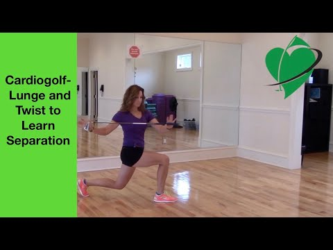 Lower and Upper Body Separation for Golfers-Improve Your Golf and Fitness with Cardiogolf