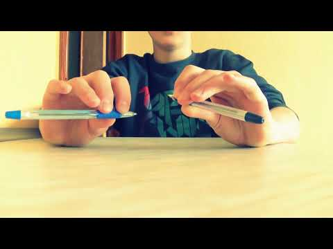 Как научиться играть ручкой по столу