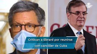 José Miguel Vivanco, director para las Américas en la organización Human Rights Watch, criticó al canciller por reunirse con el canciller cubano, Bruno Rodríguez, en medio de la situación en la isla