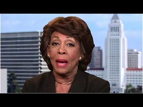 THE MINUTE MAXINE WATERS ATTACKED TRUMP TODAY, EVERYONE NOTICE SOMETHING WRONG WITH HER!