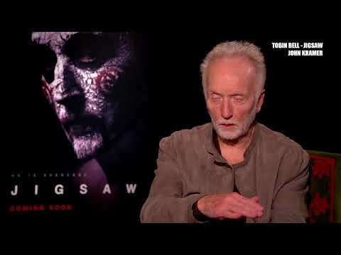Jogos Mortais: Jigsaw   Entrevista com Tobin Bell