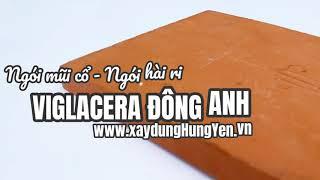 Ngói mũi cổ - Ngói hài ri Viglacera Đông Anh | Phân phối bởi cty Đức Thắng | 0221.3 862 259