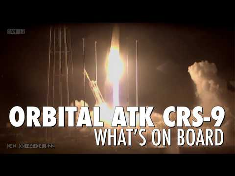 Orbital ATK CRS-9 Mission to the Space Station: What's On Board?