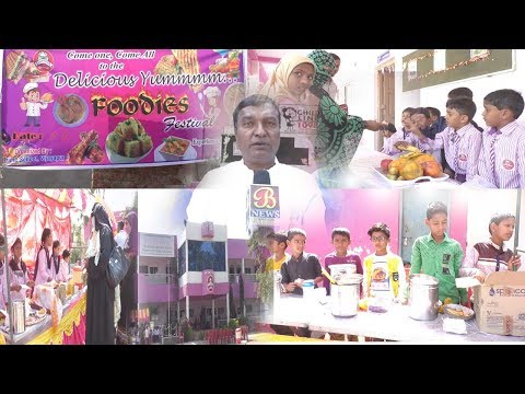 Prime School Me Chatron Ka Food Festival...! Bijapur news 12-11-2018