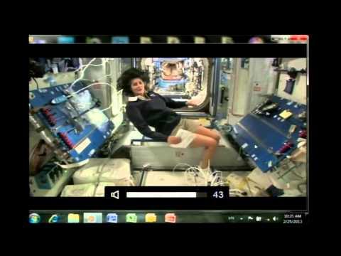 NASA Destination Station: Experiences in Orbit - Astronaut Suni Williams