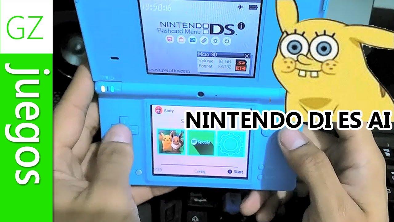 GZ   Compré un Nintendo DSi en 2019 xd