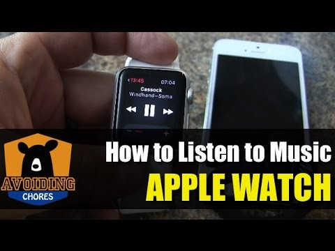 Apple Watch - How to Pair Headphones and Listen to Music