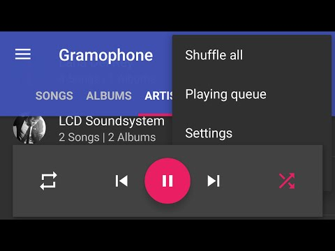 Gramophone Material Music Player (Beta)