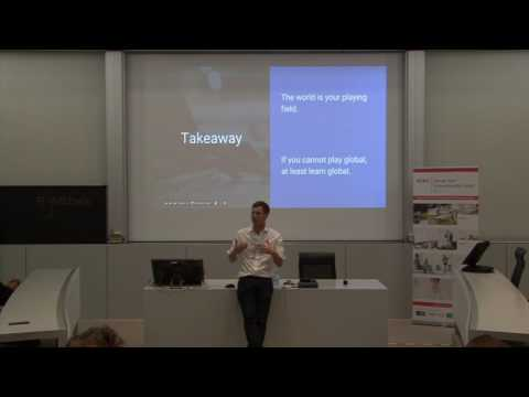 GTEC Open Lecture | Marc Alexander Christ, Founder Of SumUp