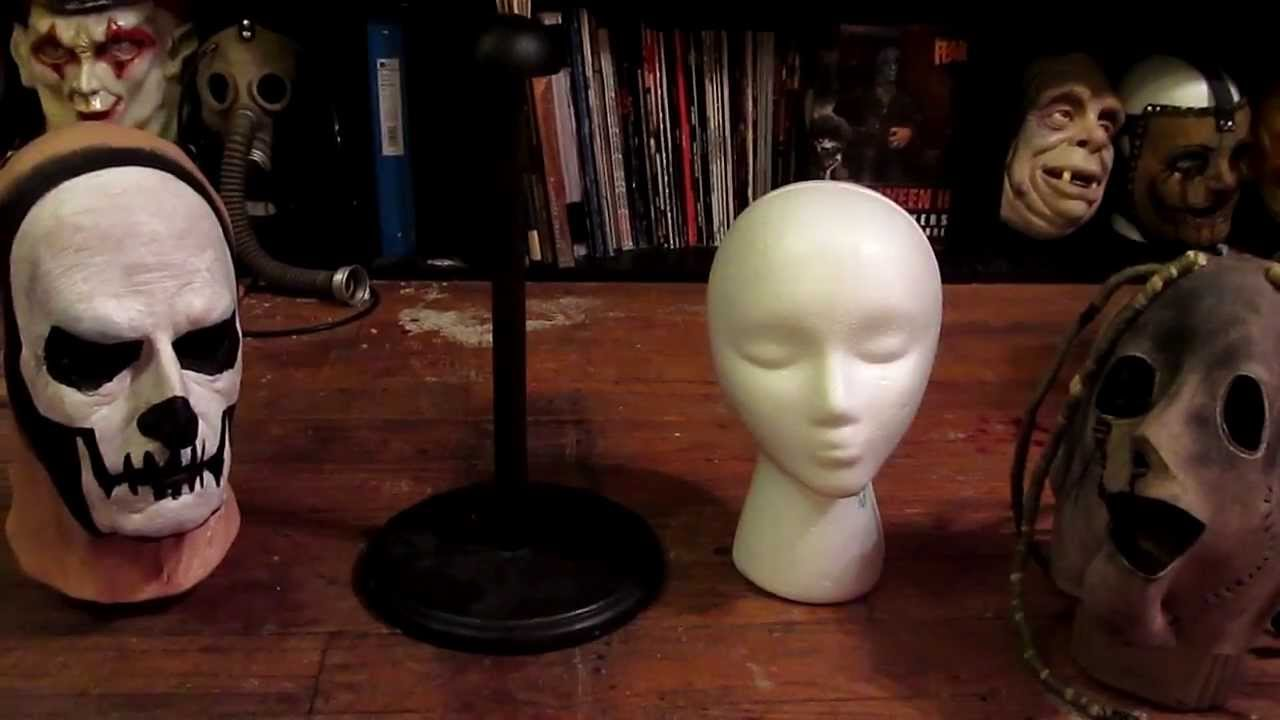 Cheap And Easy Mask Stands! YouTube