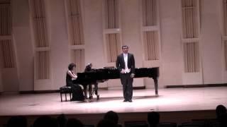 Die Ehre Gottes aus der Natur - 6 Lieder von Gellert. Op.48 - L.v. Beethoven - 바리톤 손호준