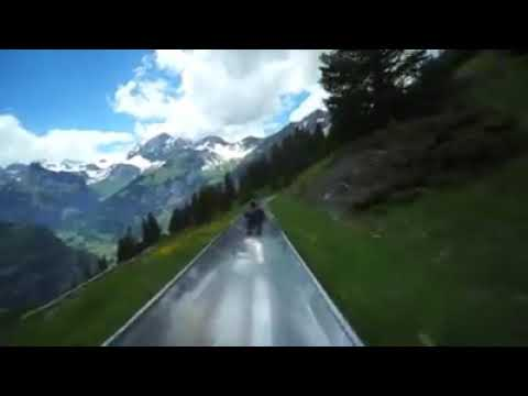 Adventure ride in Switzerland