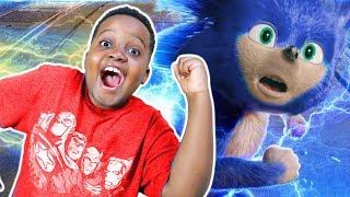 Sonic The Hedgehog vs Shiloh! - Onyx Kids