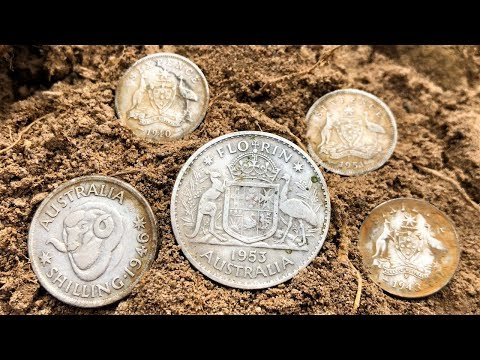 Chasing Silver Coins Metal Detecting ⛏⛏⛏