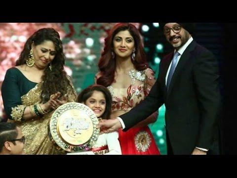 Winner Of Super Dancer Grand Finale 2016 - Ditya Bhande won the title
