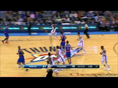 New York Knicks vs Oklahoma City Thunder | November 20, 2015 | NBA 2015-16 Season