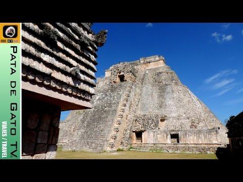 Guía Uxmal, Yucatán. Viajando con PDGTV / Uxmal guide. Traveling with PDGTV.