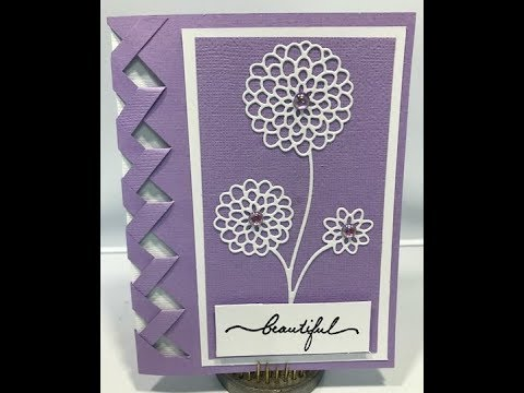 Beautiful Braided Card Tutorial With Template link