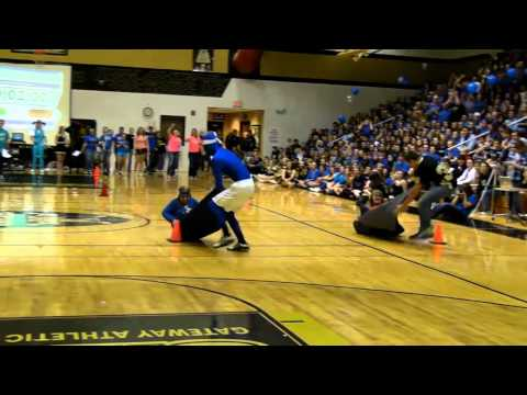 Sleeping Bag Races - Fall Pep Assembly 2011
