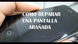 -Como pulir la pantalla del teléfono contra arañazos o piquetes-