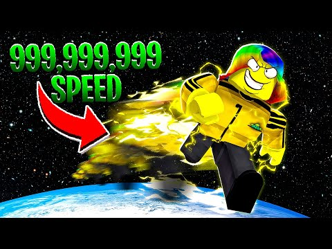 I BECAME THE FASTEST IN THE WORLD   (Roblox) - YouTube