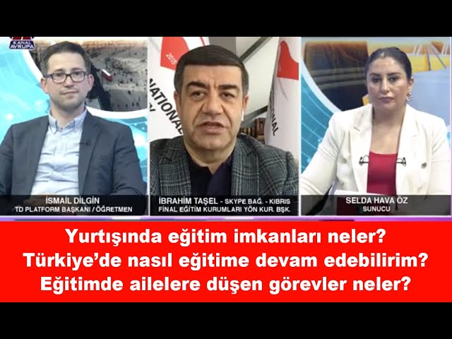 Kadinca 20.06.2021 İbrahim Taşel (Final Eğitim Kur. Yön. Kur. Başkanı ), İsmail Dilgin (TD Platform)