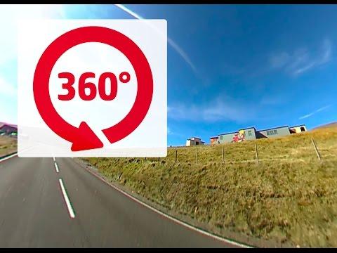 360 Degree View from the Verandah to Cronk Ny Mona - Isle of Man TT