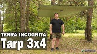 Тент Terra Incognita Tarp 3x4: обзор и метод установки
