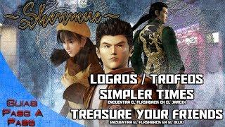 Video de Shenmue HD | Logros / Trofeos: Simpler Times y Treasure your friends