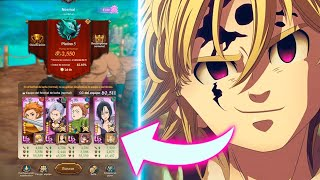 💎¡ASÍ LLEGUÉ A PLATINO en PvP.....!💎Seven Deadly Sins: Grand Cross