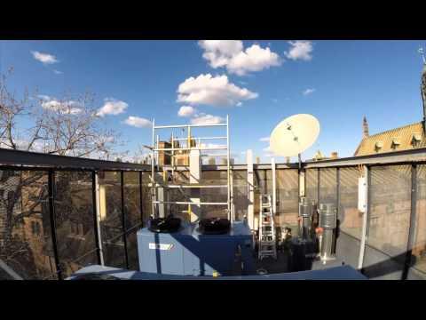 Av-Comm University of Sydney Satellite Dish Installation