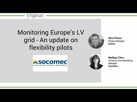 Webinar - Monitoring Europe's LV grid - An update on flexibility pilots